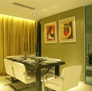 简约二居设计 简洁质感空间
