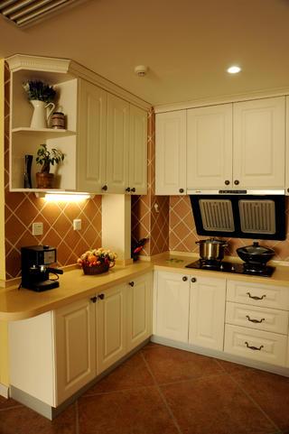 小户型简美之家厨房布局图
