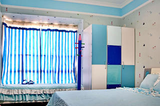 三居室地中海风格家飘窗设计