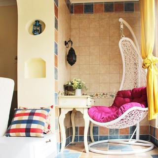100平地中海两居室装修实景图