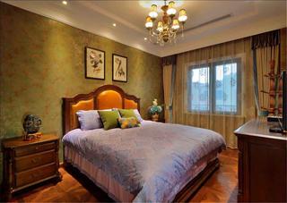 高雅奢华欧式别墅装修卧室欣赏图