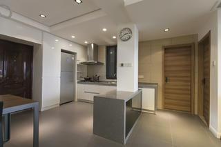 70㎡现代简约二居装修厨房设计图