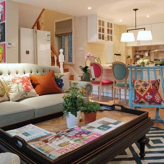 140平复式三居室装修设计图