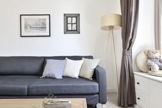日式MUJI风二居装修沙发图片
