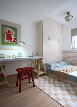 140㎡简约复式装修儿童房设计图