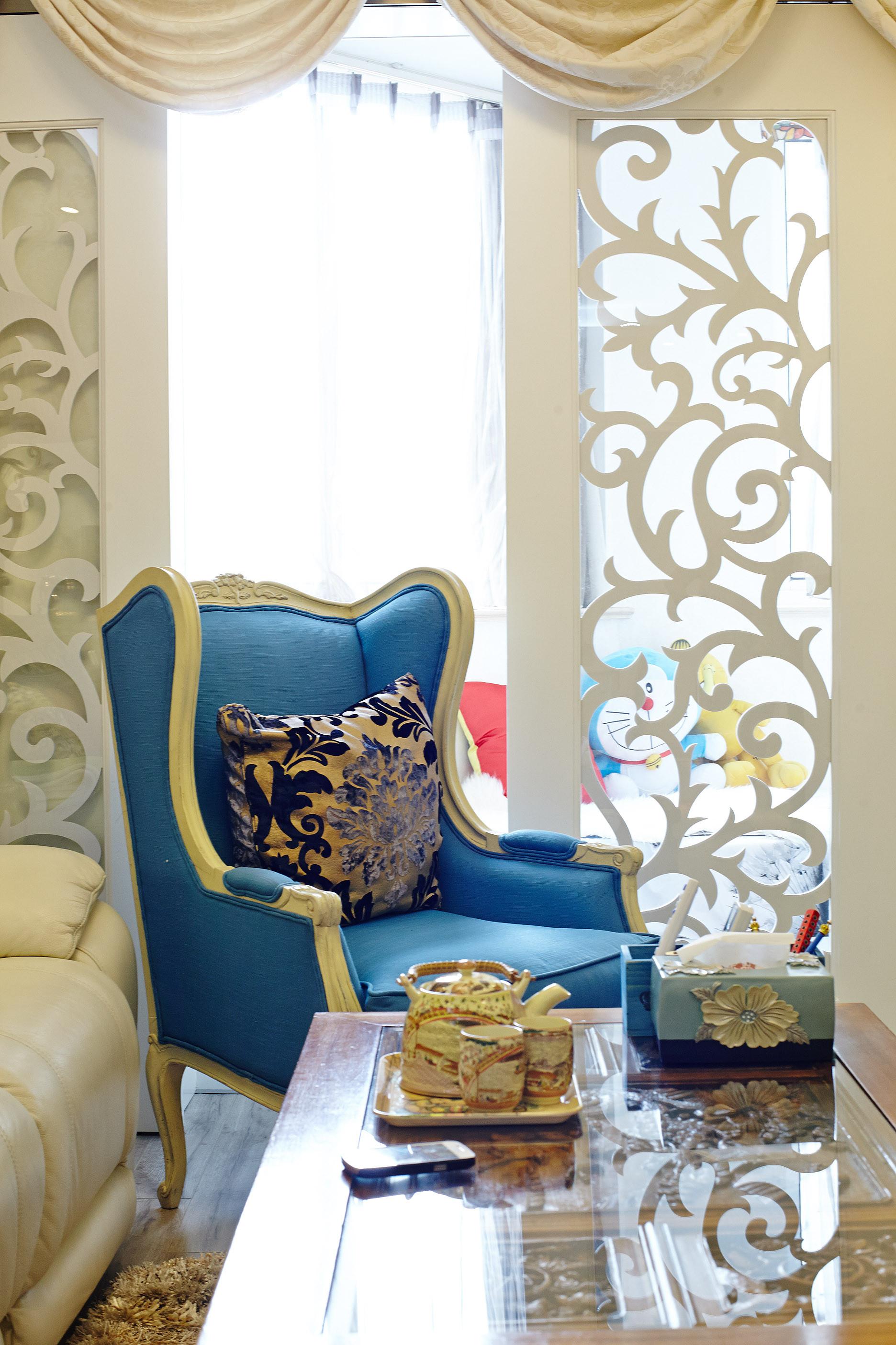 小户型简欧装修沙发椅图片