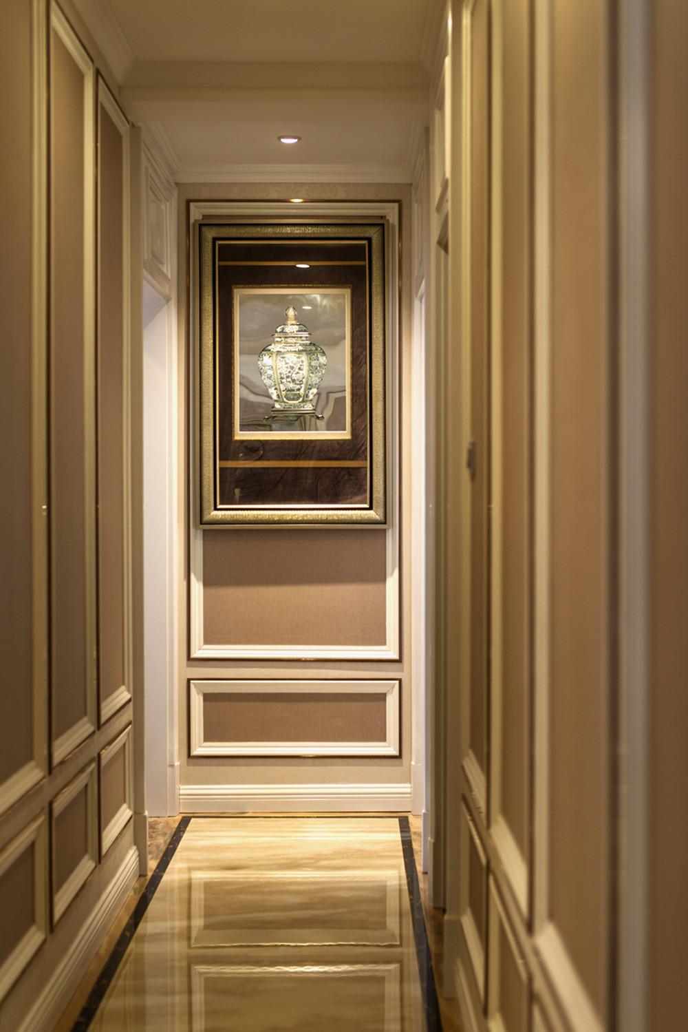 140平欧式装修走廊图片