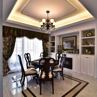 新古典风格三居室装修设计图