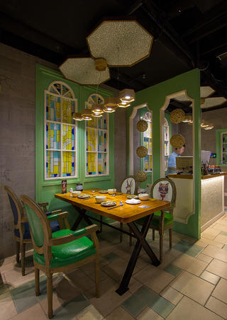餐厅装修吊灯设计