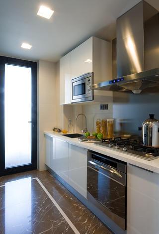 小户型后现代风格装修厨房效果图