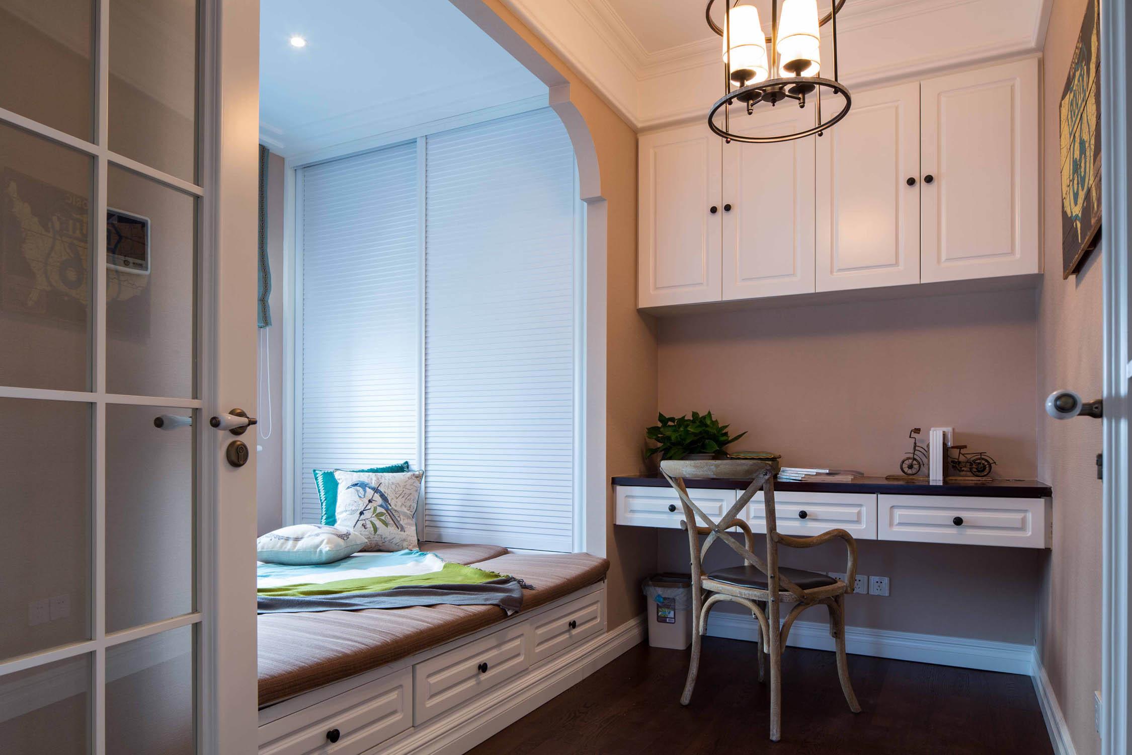 美式四居室装修榻榻米设计