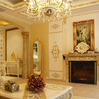 欧式奢华风格别墅装修效果图