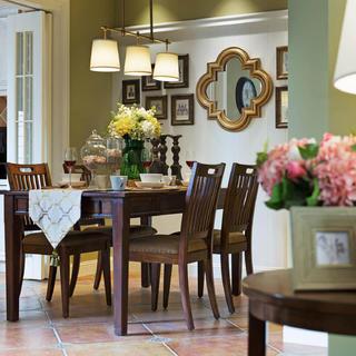 美式四居装修设计 温馨自然