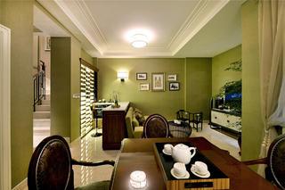 现代风格别墅装修吧台设计