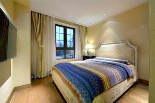 现代风格别墅装修卧室设计图