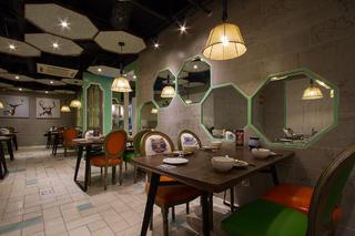 餐厅装修背景墙设计
