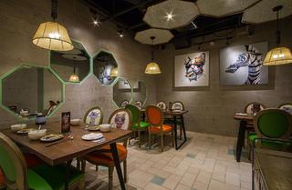 餐厅装修装饰画布置