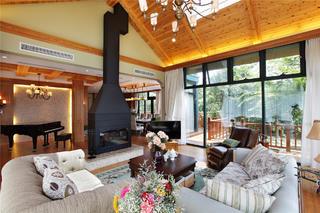 欧美风情别墅装修壁炉设计