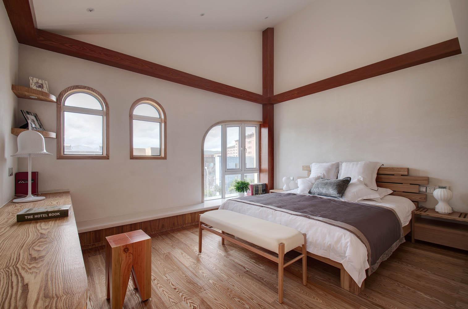 复式北欧风装修卧室设计图