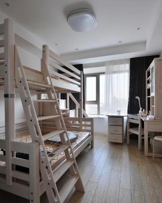 现代风格别墅装修儿童房布置图