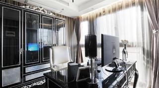140平新古典三居装修衣柜图片