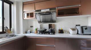 140平新古典三居装修厨房设计图