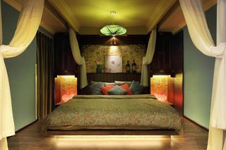中式混搭风格家卧室设计图
