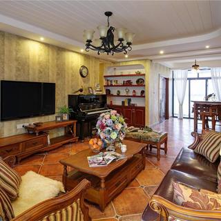 160平美式公寓装修 悠闲自在