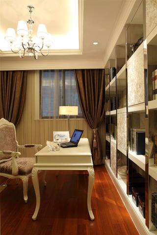 歐式公寓裝修書房設計圖