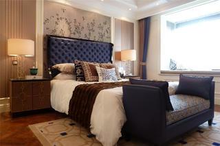 欧式奢华风装修卧室搭配图
