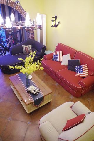 美式田园风格家沙发图片