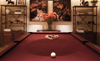 美式风别墅装修桌球娱乐区