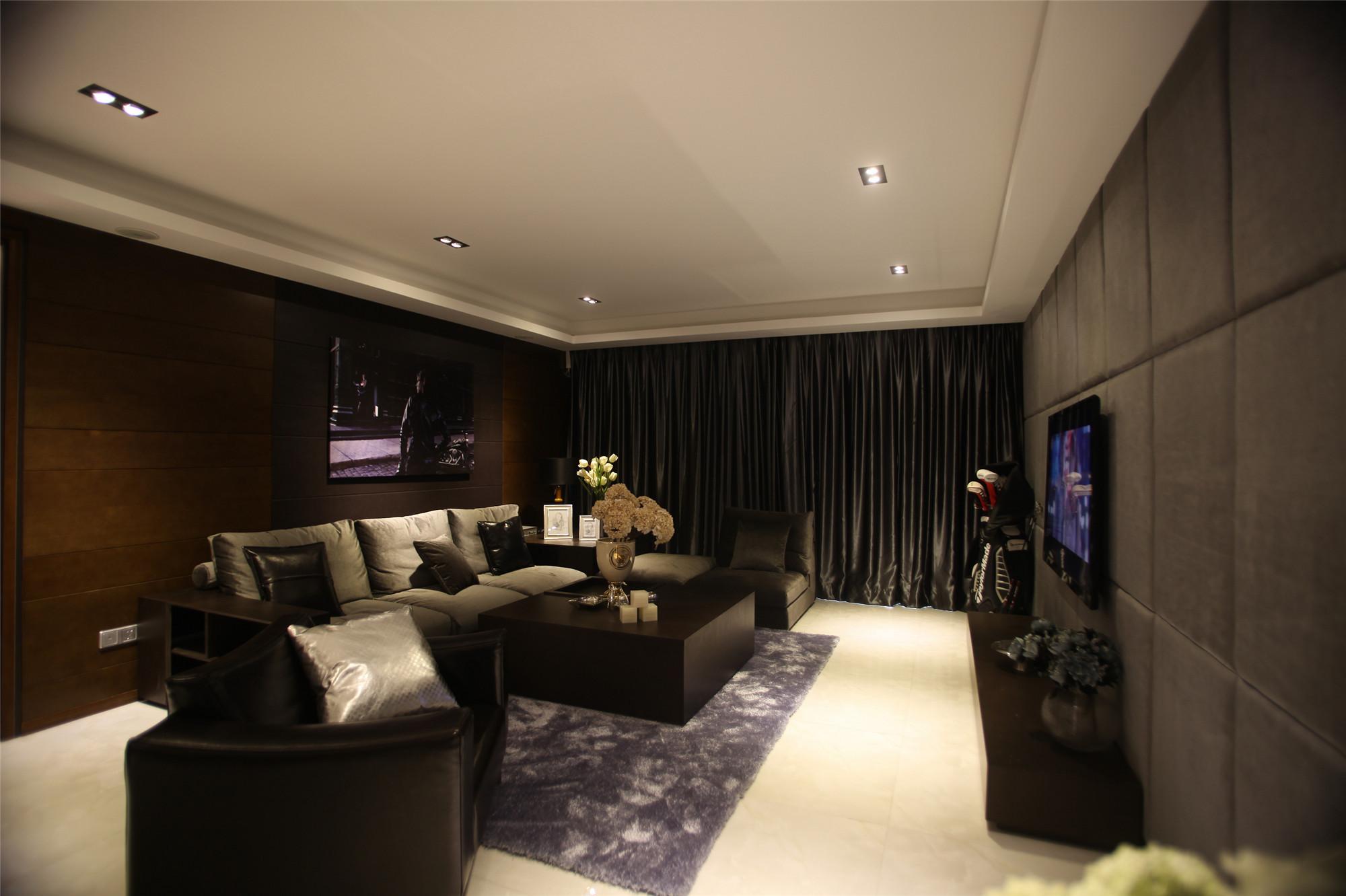 170平现代简约家客厅设计图