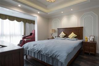 简美复式装修卧室设计图