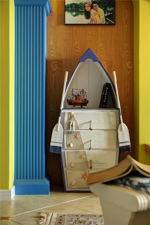 130㎡地中海风格家造型柜设计