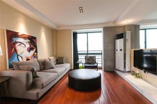 80平简约风格设计客厅布置图