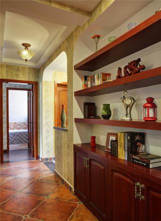 160平美式公寓装修过道图片