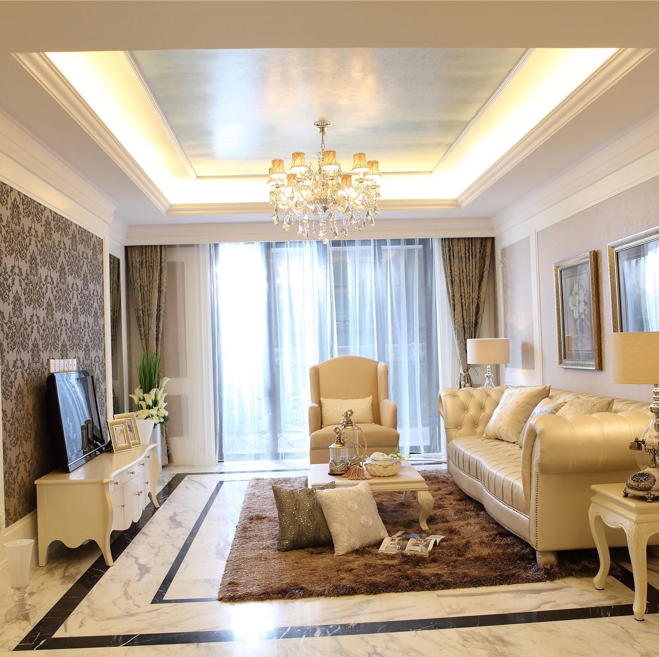 欧式公寓装修效果图 优雅温馨