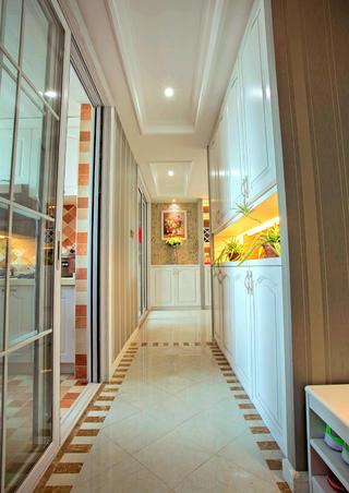二居室简欧风格家玄关走廊