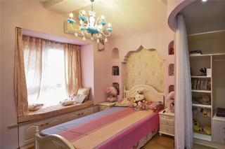 大户型地中海风格家儿童房设计图