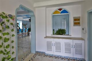 大户型地中海风格家鞋柜图片