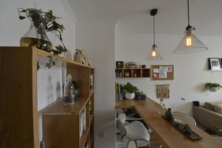 小户型公寓装修书架图片