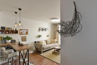 小户型公寓装修吧台设计
