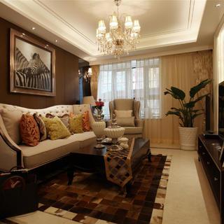 法式新古典二居装修设计图