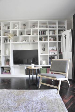 简约二居之家电视墙设计