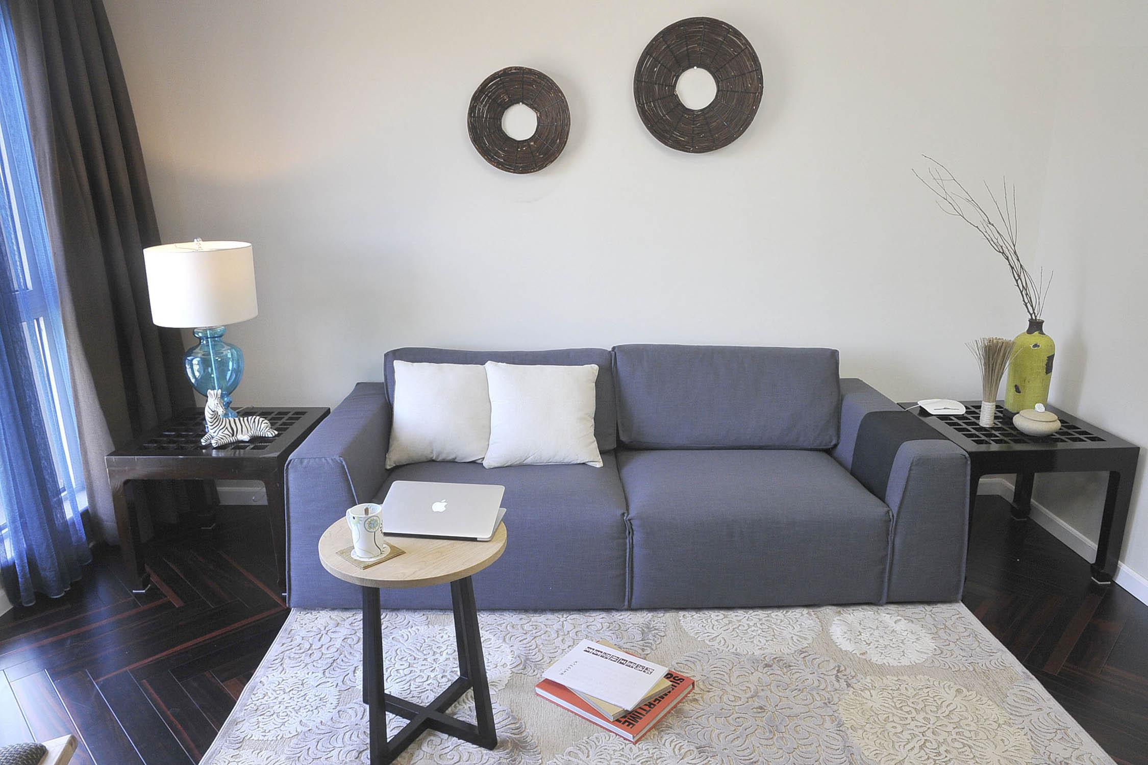 简约二居之家沙发背景墙图片