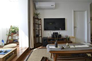 小户型公寓装修电视背景墙图片