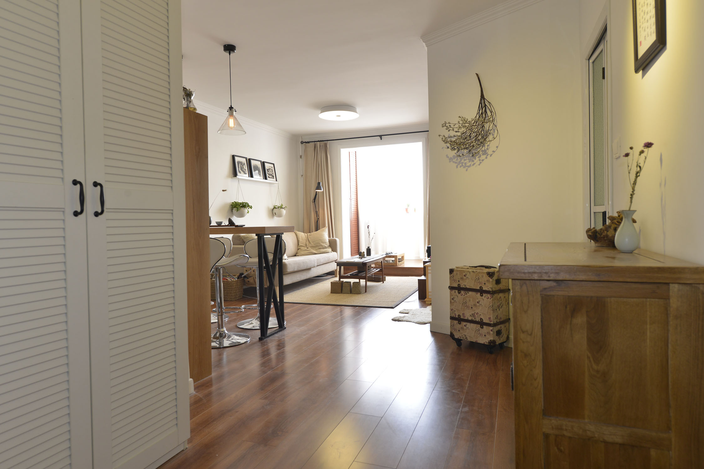 小户型公寓装修玄关设计