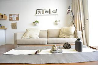 小户型公寓装修沙发背景墙图片