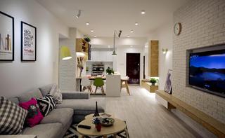 北欧风二居之家沙发图片
